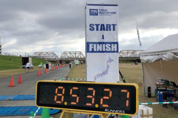 大阪トライアルマラソン(大阪Trial Marathon 2020.11.21)を走ったよ