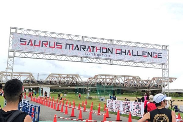 SAURUSマラソンチャレンジin大阪リバーサイド (2021.9.26)-他力本願でPB更新-